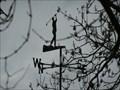 Image for Golfer weathervane, Radford Road, Nr Abbots Morton, Worcestershire