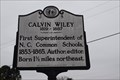 Image for First Superintendent of Common Schools - Calvin H. Wiley, Guilford Co, USA