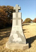 Image for Matthew 16:16-18 and Psalms 72:12 - Gower Cemetery, Edmond, OK