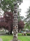 Image for Gitxsan Pole 1960 - Victoria, British Columbia