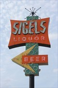 Image for Sigel's Fine Wines & Great Spirits Sign - Dallas, TX
