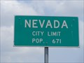 Image for Nevada, TX - Population 671