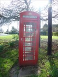 Image for Red Telephone Box - Sedgebrook, Lincolnshire
