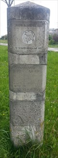 Image for replica Roman milestone - Wijk bij Duurstede - The Netherlands