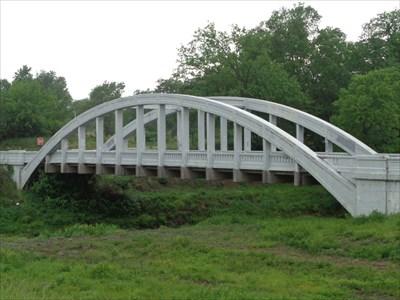 veritas vita visited Brush Creek Bridge