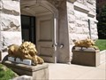 Image for Washington County Courthouse lions - Marietta, Ohio