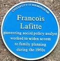 Image for Francois Lafitte - University of Birmingham - Edgbaston, Birmingham, U.K.