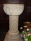 Image for Early Baptismal Font - St Thomas Church - Monmouth, Wales.