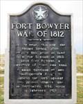 Image for Fort Bowyer War of 1812 - Historic Marker - Fort Morgan, Alabama.