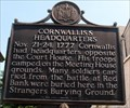 Image for Cornwallis's Headquarters - Nov. 21-24, 1777 - Woodbury, New Jersey