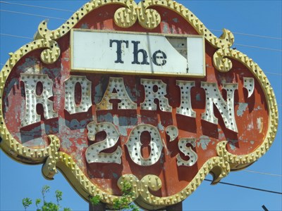 Roaring 20s - Route 66 - Grants, New Mexico.