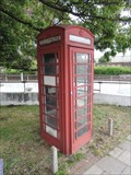 Image for Red Telephone Box - Gillette Corner, Brentford, London, UK