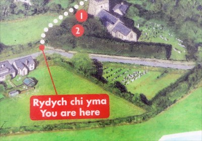 You Are Here - Nevern