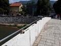 Image for Love padlocks at the Latin Bridge - Sarajevo, Bosnia and Herzegovina