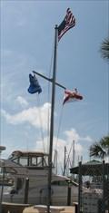 Image for Gulfport Municipal Marina Nautical Flagpole, Gulfport, FL