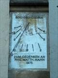 Image for Sundial at the Stephanuskirche - Echterdingen, Baden-Württemberg