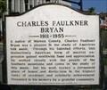 Image for CHARLES FAULKNER BRYAN