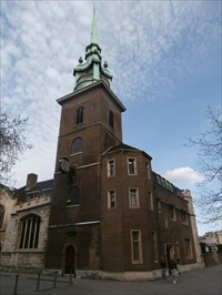 All Hallows-by-the-Tower - Byward Street, London