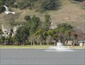 Image for Marin Civic Center Lake fountain - San Rafael, CA