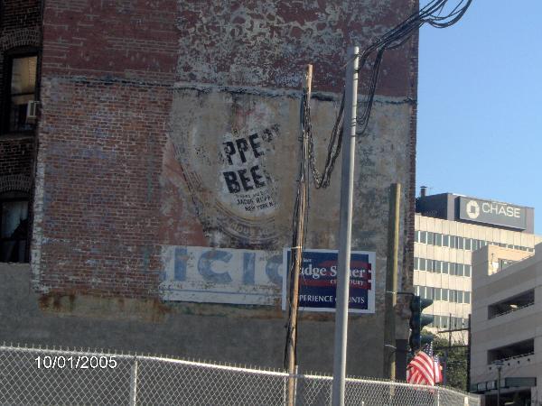 Vintage Ruppert Beer ad