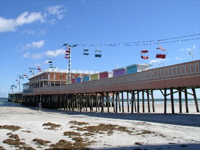 Main Street Pier Sky Lift Daytona Beach Fl Legacy Aerial Lifts On Waymarking