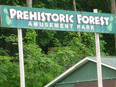 Lord Abercrombie visited Prehistoric Forest - Onsted (Irish Hills), MI