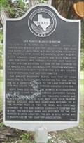 Image for San Marcos-Blanco Cemetery