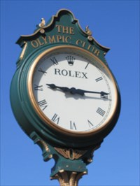 Olympic Club Rolex 2nd Face, Daly City, CA