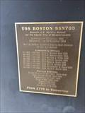 Image for USS Boston SSN703 Monument - Buffalo, NY