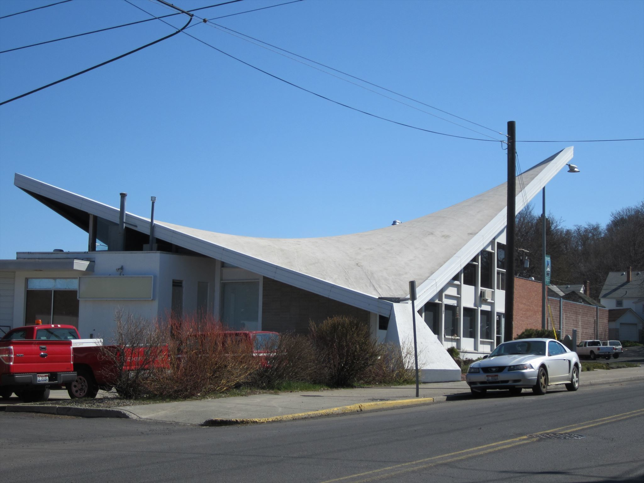 Butterfly Roof Style Building Moscow Idaho