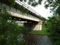 Image for železnicní most pres Svratku / railway bridge over Svratka river, Brno - Komárov, Czech republic