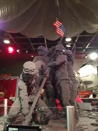 LEGO Iwo Jima, Front