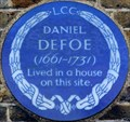 Image for Daniel Defoe - Defoe Road, London, UK
