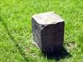 Image for 1881 Survey Stone on Ohio-Pennsylvania border, Offset 25 feet (Mile 53)