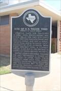 Image for Site of O.K. Wagon Yard