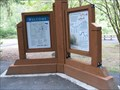 Image for Baker Park, Umatilla River, Oregon - Two You Are Here Maps