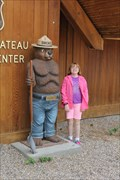 Image for Smokey statue -- Kaibab Forest Visitor Center, Jacob Lake AZ