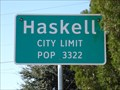 Image for Haskell, TX - Population 3322