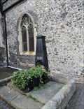 Image for St Thomas à Becket Church Pump - Cliffe High Street, Lewes, UK
