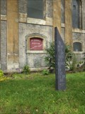 Image for Matthew 28:20 - St John the Baptist Church Garden of Remembrance - Pitfield Street, London, UK