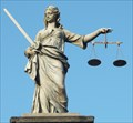 Image for Allegorical Figure of Lady Justice - Dublin Castle, Dublin, Ireland