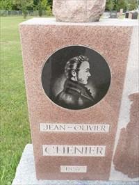 Portrait de Jean-Olivier Chénier  et l