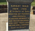 Image for Our Fallen Soldiers - Ensay Cenotaph, Victoria, Australia