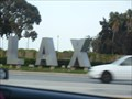 Image for LAX Sign - Los Angeles, CA