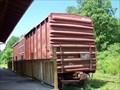 Image for Mineral Bluff Depot Train Car - Mineral Bluff, GA