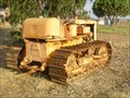 Image for Old crawler-type tractor in Lousal, Portugal