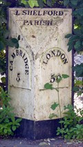 Image for Milestone - Whittlesford Road, Little Shelford, Cambridgeshire, UK.