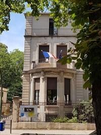 Französisches Generalkonsulat - Eingang