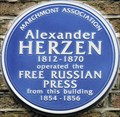 Image for Alexander Hertzen - Judd Street, London, UK
