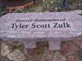 Image for Dedicated Bench, Tyler Scott Zulk, Canova, South Dakota